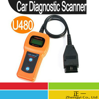 Free Shipping OBD2 U480 (10.6)mass read code card read code device U480 mass decoding diagnostic instrument