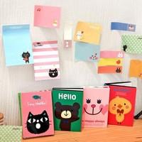 Wholesale  scrapbook stationery cartoon animal  memo pad gift