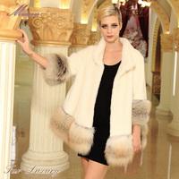 Marten overcoat Women 2013 mink fur leather coat women luxury