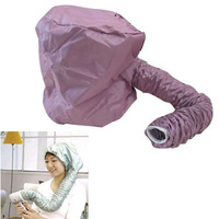 Portable Hair Dryer Soft Hood Bonnet Attachment Haircare Salon Hairdress