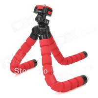 Fotopro RM-100 Octopus sponge Style Flexible Mini Tripod w/ Head for Digital Camera DC DV gopro