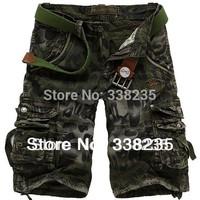 New beach shorts men surf bermudas men top bib overall Camoflage Matte boardshorts cargo jeans leisure pocket shorts