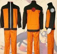 Brand new Uzumaki Naruto Ninja Uniform Cosplay Costume set