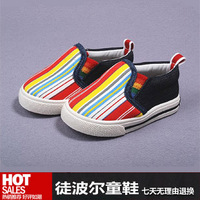 2013 shoes canvas shoes boys shoes children shoes baby toddler shoes female skidproof child shoes