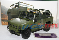 1 pcs/lot  1:18 Beijing Jeep BJ2022JC the military command vehicle  die-cast Car Model  Green
