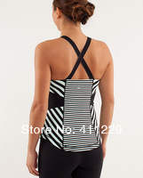FREE SHIPPING 2013 New Arrival Lululemon Tank Hot Selling Lululemon Clothing Cheap Lululemon Vest For Girl Size 2 4 6 8 10 12
