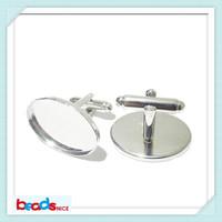Beadsnice ID8941  cufflink accessories personalized oval cufflink backs designer cuff links blanks high quality