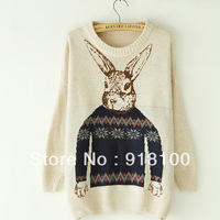 2013 autumn sweater female pullover sweater buck basic shirt