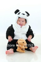 Hiphop cat 2013 new arrival winter thickening baby romper infant animal style