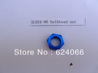 alloy turbo fitting -6AN 6 AN bulkhead nut