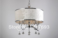 Modern Luxury Stylish 5 Light Chandelier With Lint Shade
