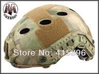 FAST Helmet-PJ TYPE Tactical helmet  (A-TACS/FG) -Free shipping