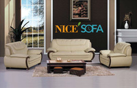 Foshan furniture leather living room sofas A665#