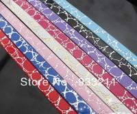50 Stripes PU Leather Crack Belt 1m length Fit 8mm charm