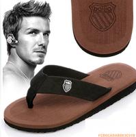 Summer 2013 beckham slippers flip flops beach slippers men fashion shoes slip-resistant male slippers