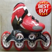 Free Shipping Edger e carbon fiber speed skating shoes mpc 700 aluminum alloy mount skating shoes