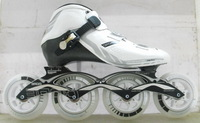 Free Shipping City run cr carbon fiber speed skating shoes core mount ps wheels