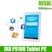 Free Shipping JXD P9100 Tablet PC 9 Inch Android 4.1 Dual SIM Card 2G/GSM Monster Phone Bluetooth