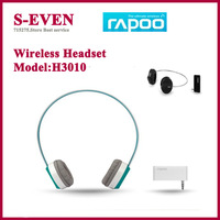 Rapoo H3010  Wireless Earphones Headset 2.4G stereo Computer Headphone Free Shipping