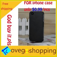 2013 new free shipping 0.5mm Ultra Thin Slim Matte frosting Transparent Cover Case For iphone4 iphone 4 4s 4g D0012