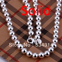 popular solid silver necklace