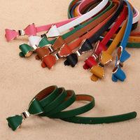 Bow thin belt female bag buckle brief all-match strap