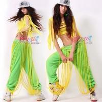 Ds costume hiphop push-up neon sports pants hip-hop pants hypertensiveperson 8435