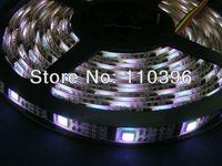5v 32 pixel/m rgb addressable led strip waterproof ip65 32 pcs ws2801 with 32 pcs smd 5050 led 5m black/white pcb