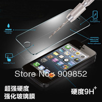 Explosion-Proof Transparency Tempered Glass For iPhone 5 5G,Anti Shatter Film Screen Protector Film For Apple iphone,MOQ 1pcs