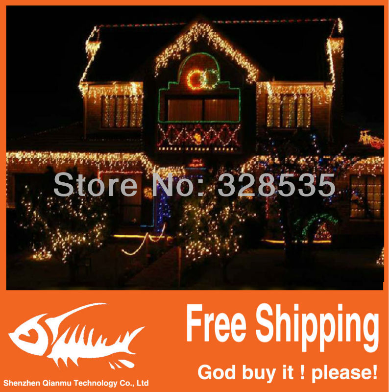 Led lights flasher lamp set multicolour christmas lighting string decoration outdoor waterproof led lantern 10 meters 100 lamp(China (Mainland))