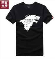 "House Stark of Winterfell - Winter Is Coming ""A Song of Ice and Fire Game of Thrones Season"" T Shirt for Women Men Free Shipping"