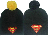 Superman super man cartoon beanie winter thermal knitted hat hip-hop street knitted cap