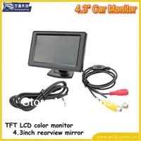 "4.3"" / inch TFT LCD Car Rear View Color Camera Monitor & DVD"