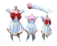 New Anime Pretty Soldier Sailor Moon Sailor Chibimoon Japanese Anime Cosplay Costume female halloween party Any Size