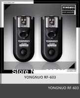 Yongnuo Wireless Flash Trigger RF603 Remote Control RF-603 C1 FSK 2.4GHz For CANON 60D 1000D 550D 500D 450D 400D 300D