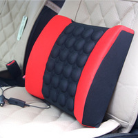 Electric massage car cushion back cushion car waist support pad kaozhen summer