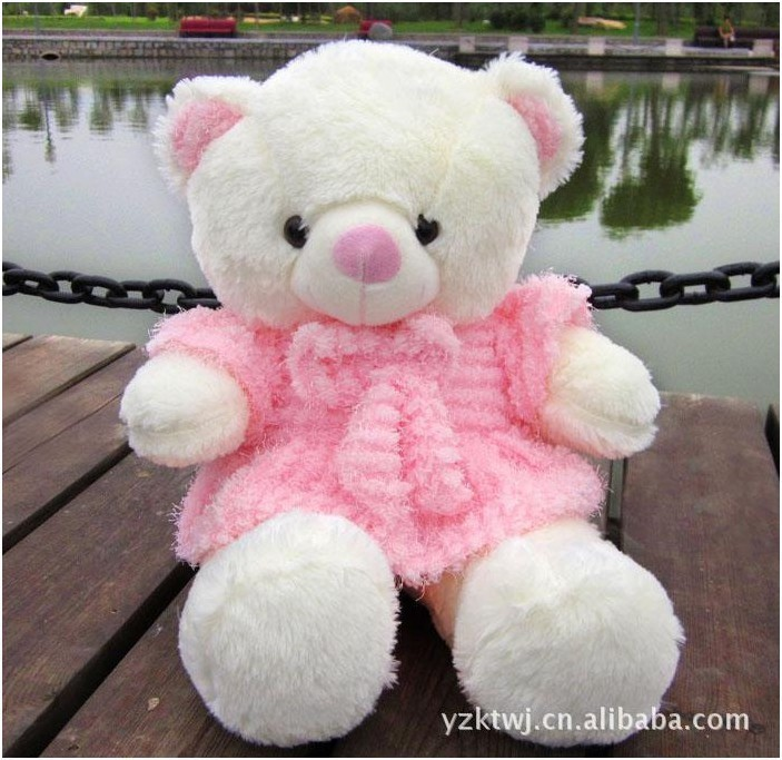 60cm Big Giant Teddy bear plush toys wholesale loose juice skirt ...