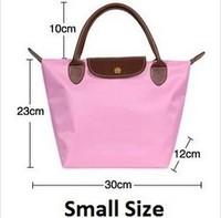 Hot Wholesale Women's Leather Handbags Ladies Beach Totes Shopping Bag Nylon WaterProof Candy Fashion Female Casual Shoulder Bag