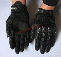 IN STOCK RS TAICHI 390 RST390 Motorcycle Gloves Leathe Sport Racing gloves Armed Leather  riding off-road gloves