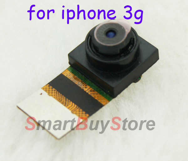 50pcs/lot Mobile Phone Camera with Flex Cable for iPhone 3G DHL EMS free shipping(China (Mainland))