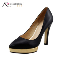 2013 spring and summer single pointed toe stiletto shoes kw12004