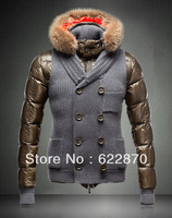2013 , The winter jackets ,  Man's coat , Down  parkas brand , Free shipping mon 9003
