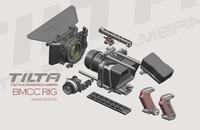 Tilta TT-BMC-05 BMCC Rig Blackmagic Cinema Camera Cage 15mm rod Follow Focus