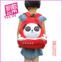 Backpack child backpack cartoon plush bags baby school bag giant panda