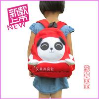Backpack child backpack cartoon plush bags baby school bag giant panda