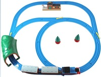 Free shipping newest thomas train track electric Multiple assembly method for thomas track  ultimate version