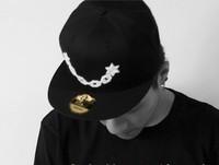 Mlgb hat summer male women's lovers baseball cap hiphop flat along the cap hip-hop npc chain cap
