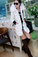 free shipping  The new winter 2013 lambs wool heavy hair thickening feather coat of cultivate one's morality