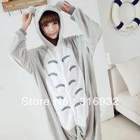 K2 Flannel japanese anime  totoro animal sleepwear long-sleeve autumn and winter female