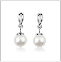 Designer Fashion Ladies Pearl Drop Earrings